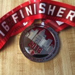 2016 Finisher's LA Marathon Medal