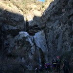 Fish Tail Canyon's waterfall